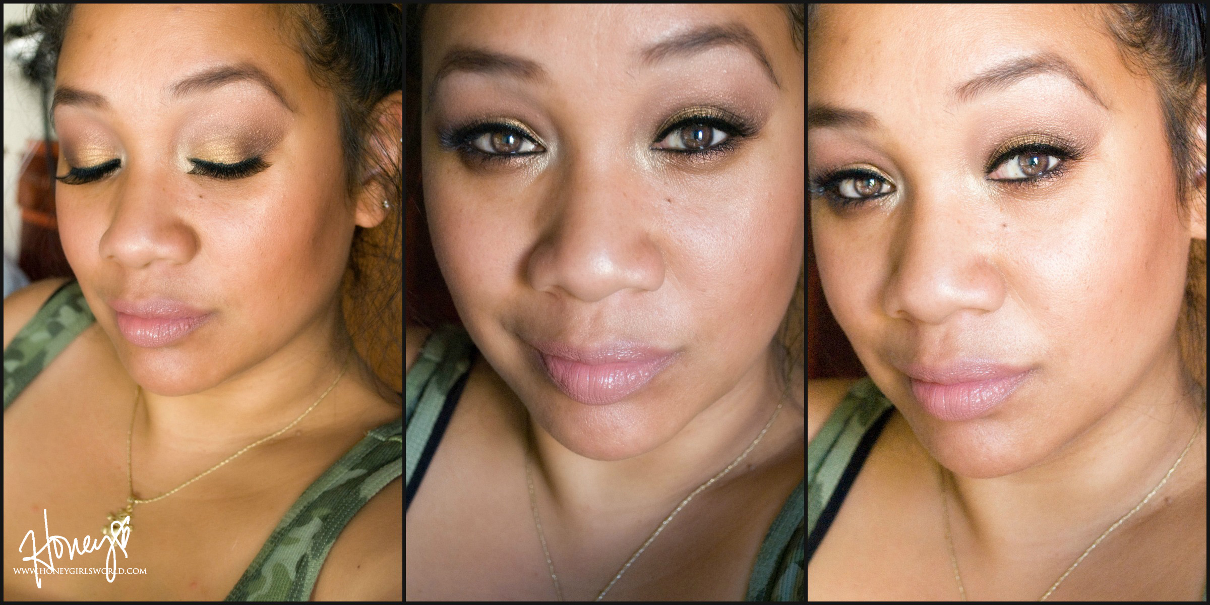 Bronzed Beauty Summer Makeup