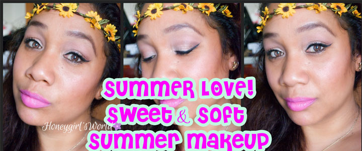 Summer Love – Summer Makeup Tutorial featuring Colour Pop Eye Shadows