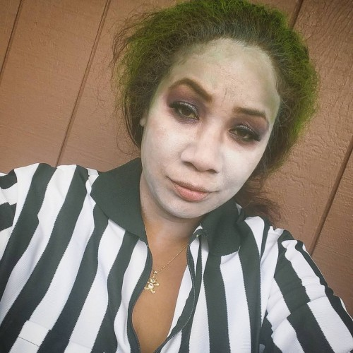 Beetlejuice in the house! Happy Halloween!