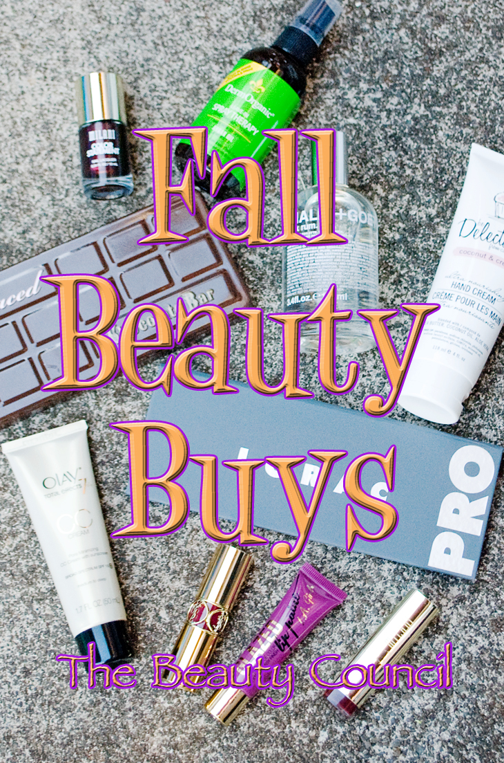 fall beauty buys