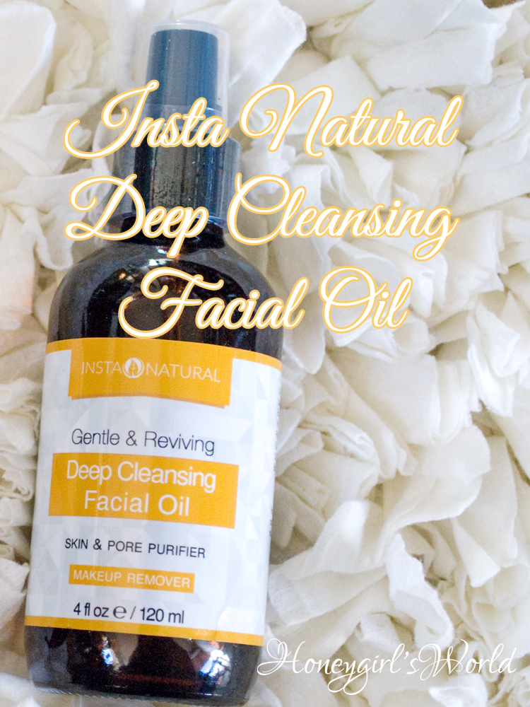insta natural cleansing oil