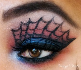 The Amazing Spiderman makeup