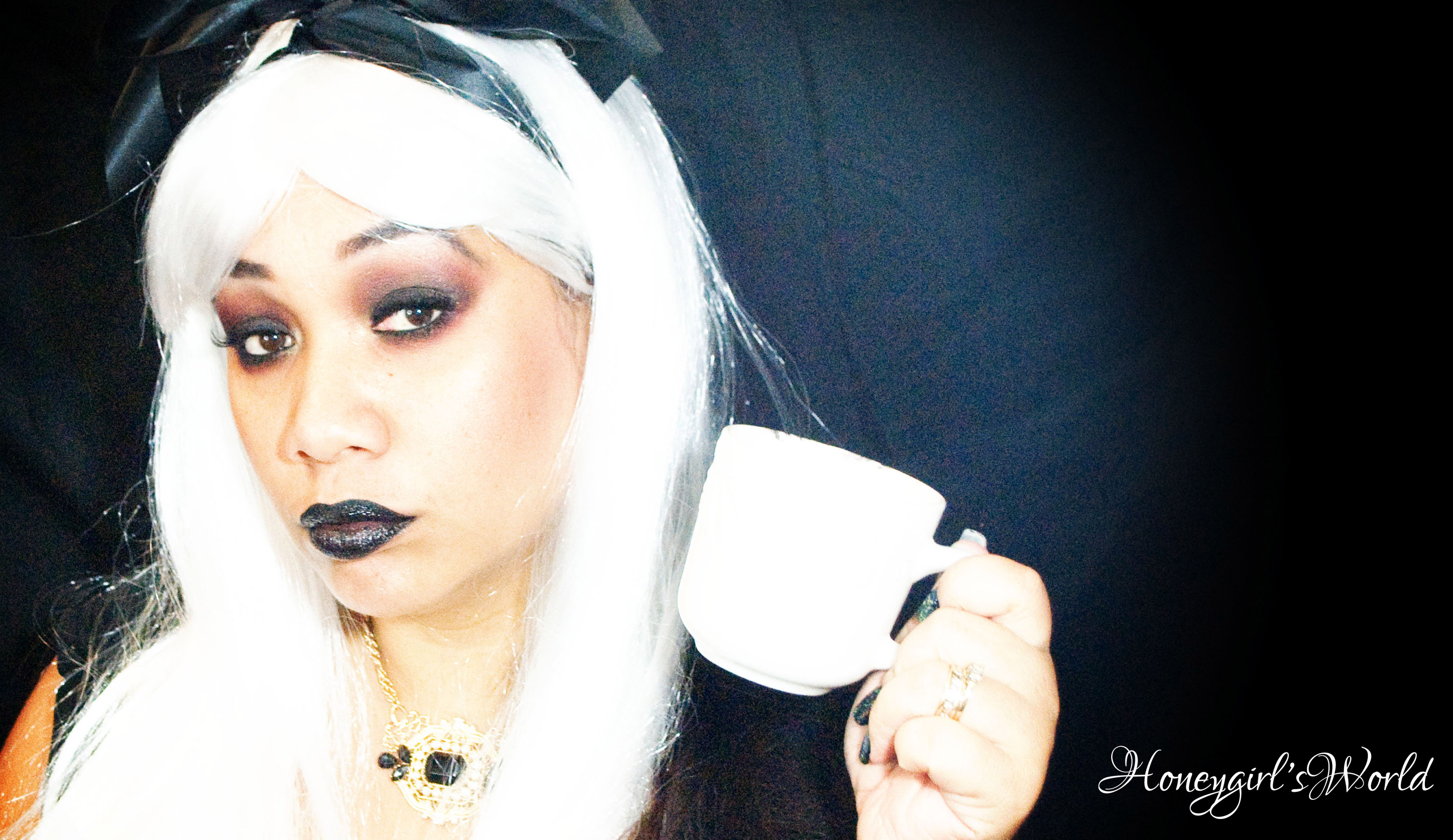 Halloween Makeup – Dark Gothic Alice In Wonderland