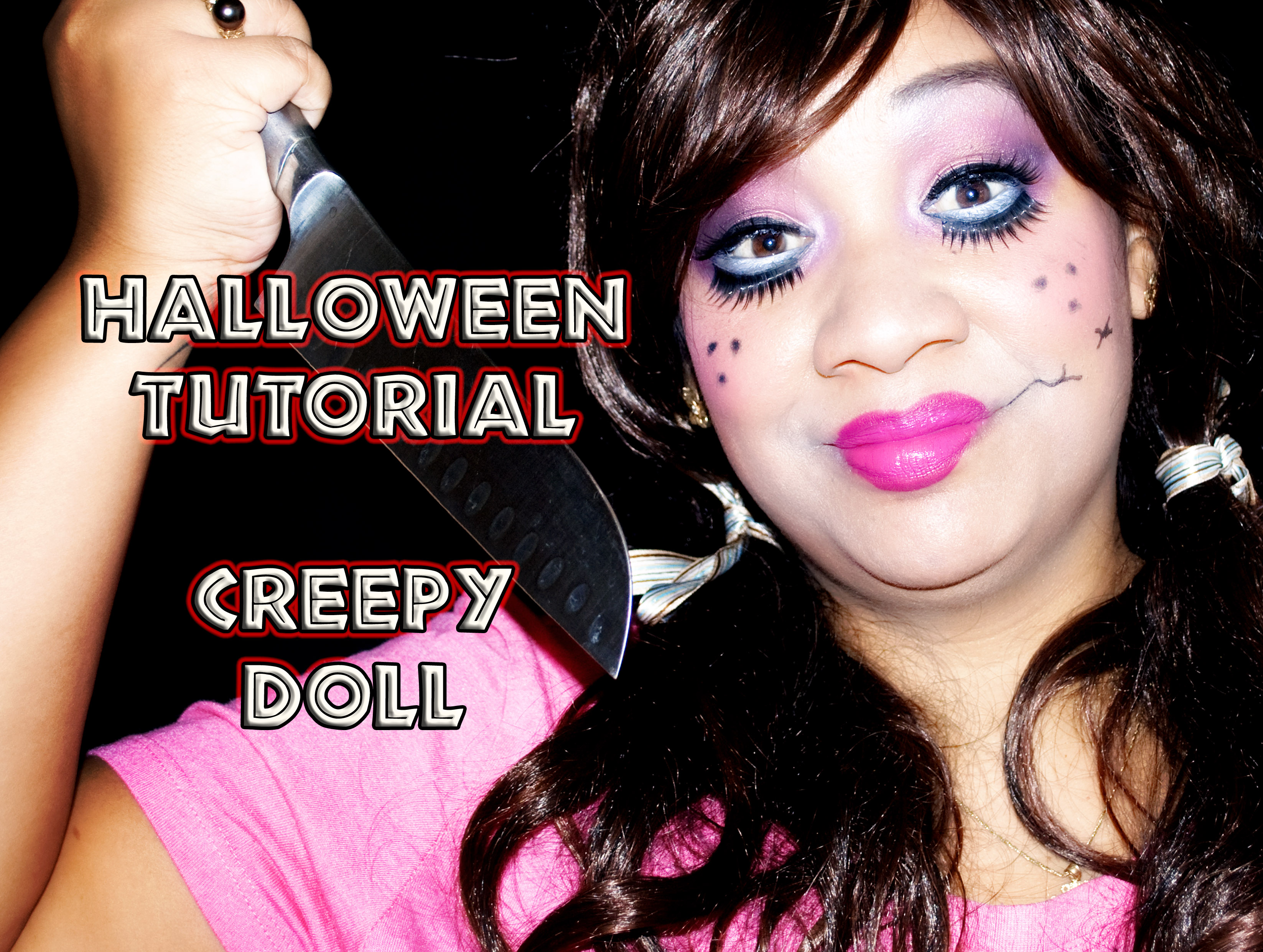 HALLOWEEN TUTORIAL – Creepy Doll Makeup Tutorial