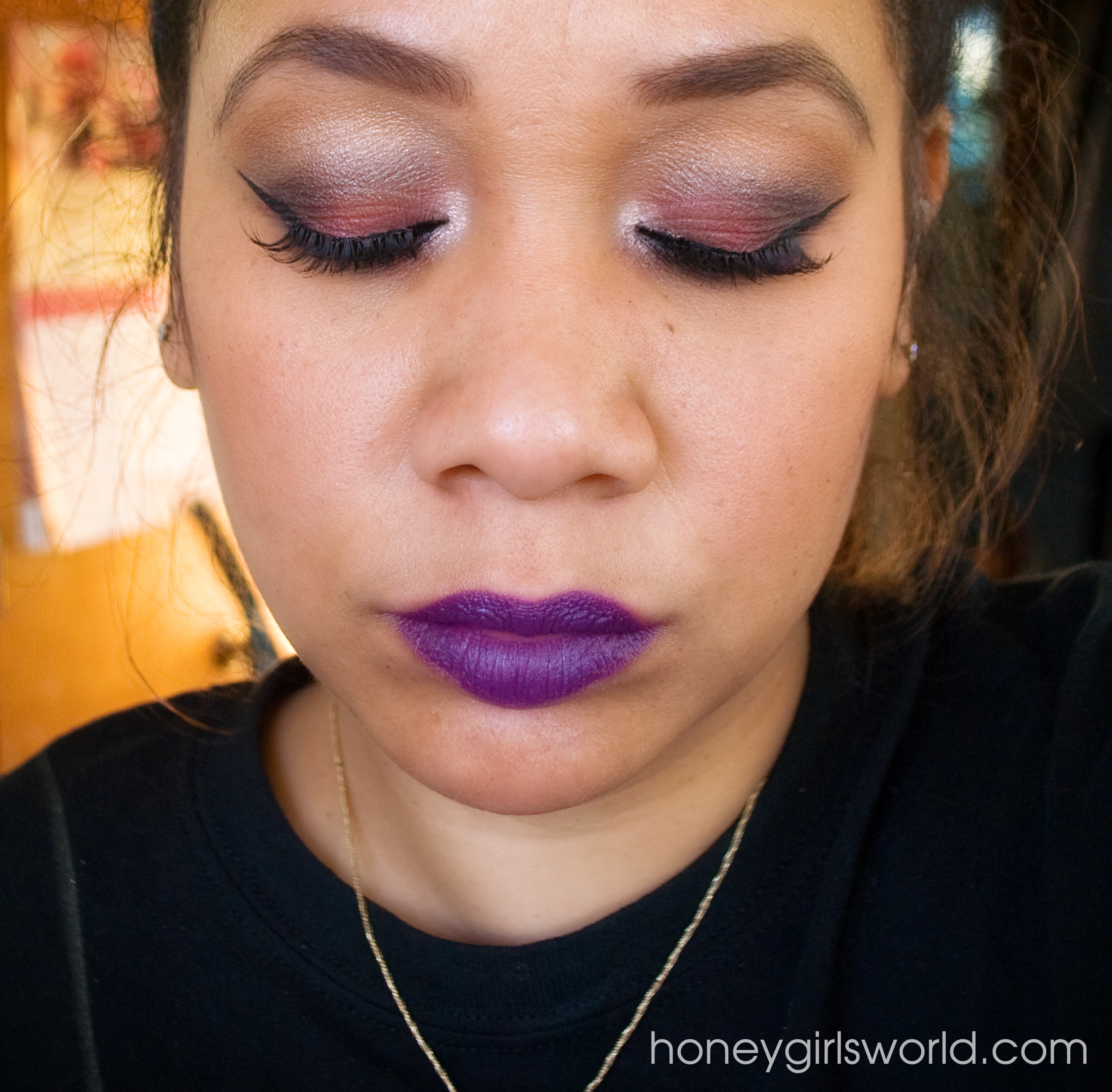 holiday makeup tutorial feat. colour pop