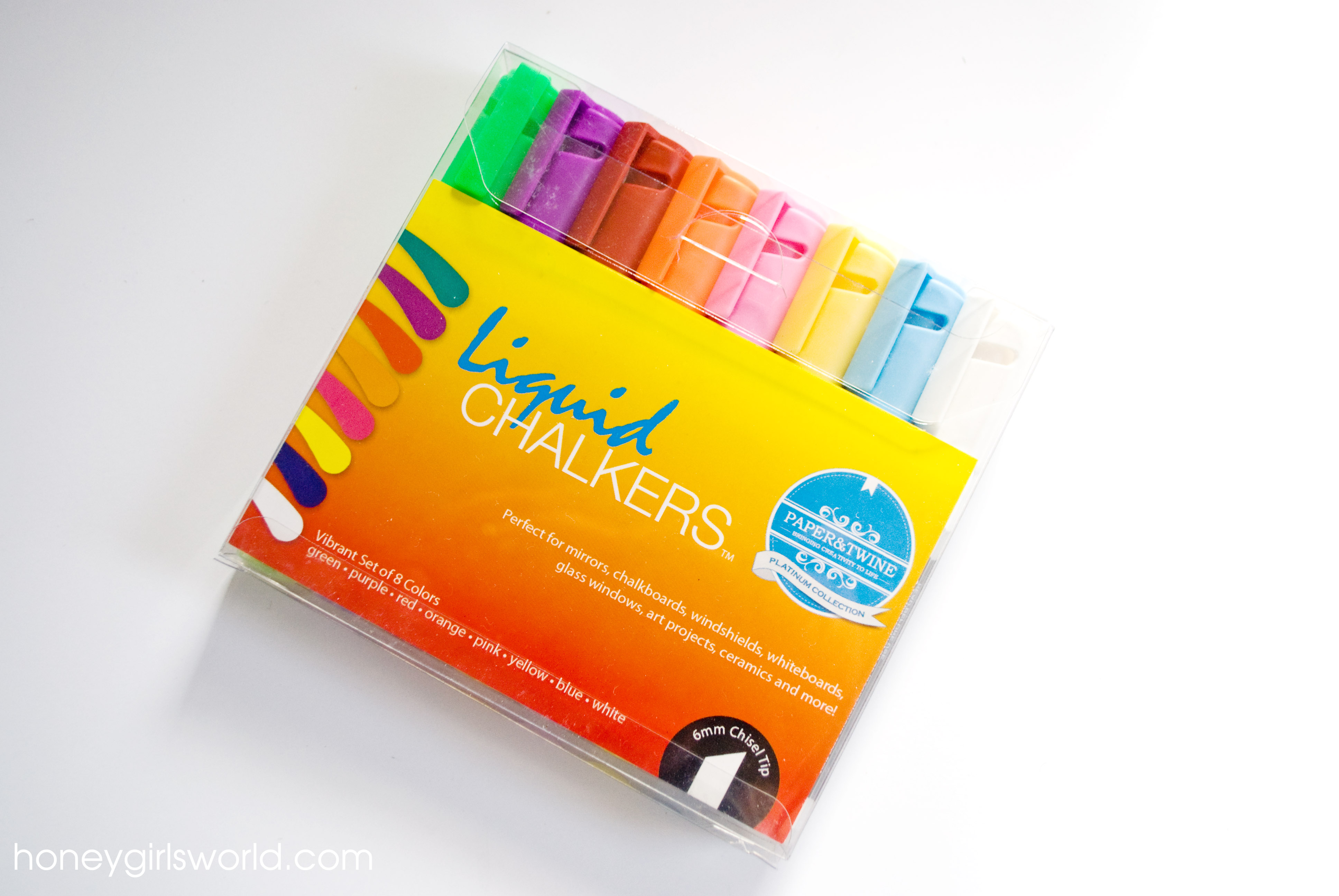Paper and Twine Liquid chalkers