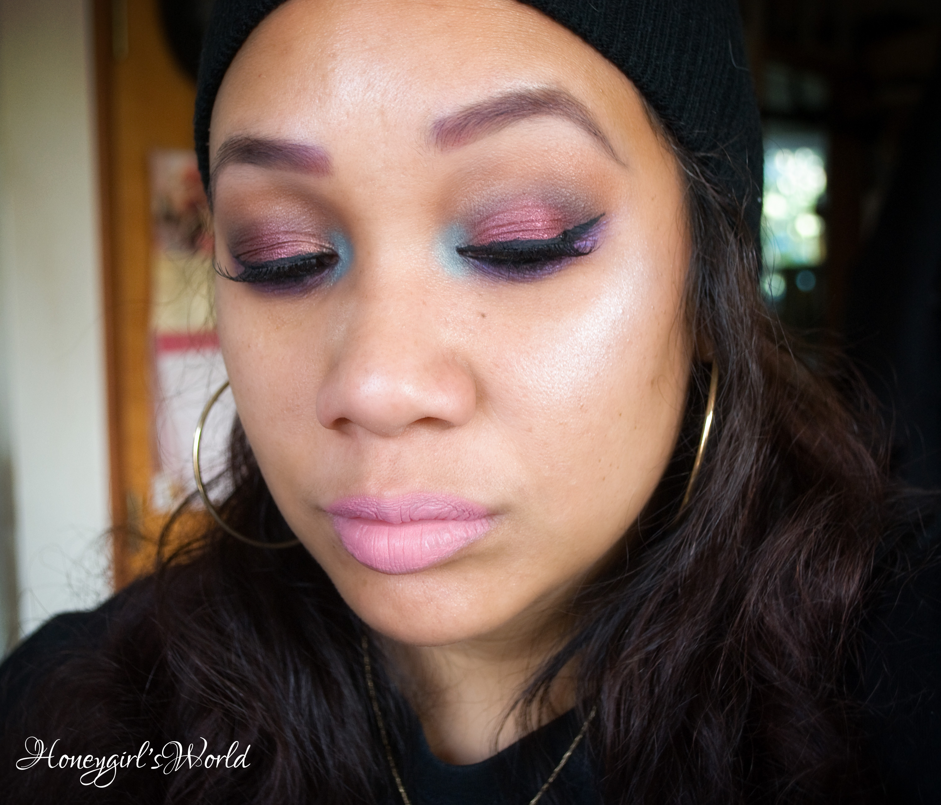 Fall Berry Smokey Eye
