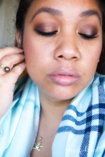 Romantic Sparkle New Year's Eve Makeup look
