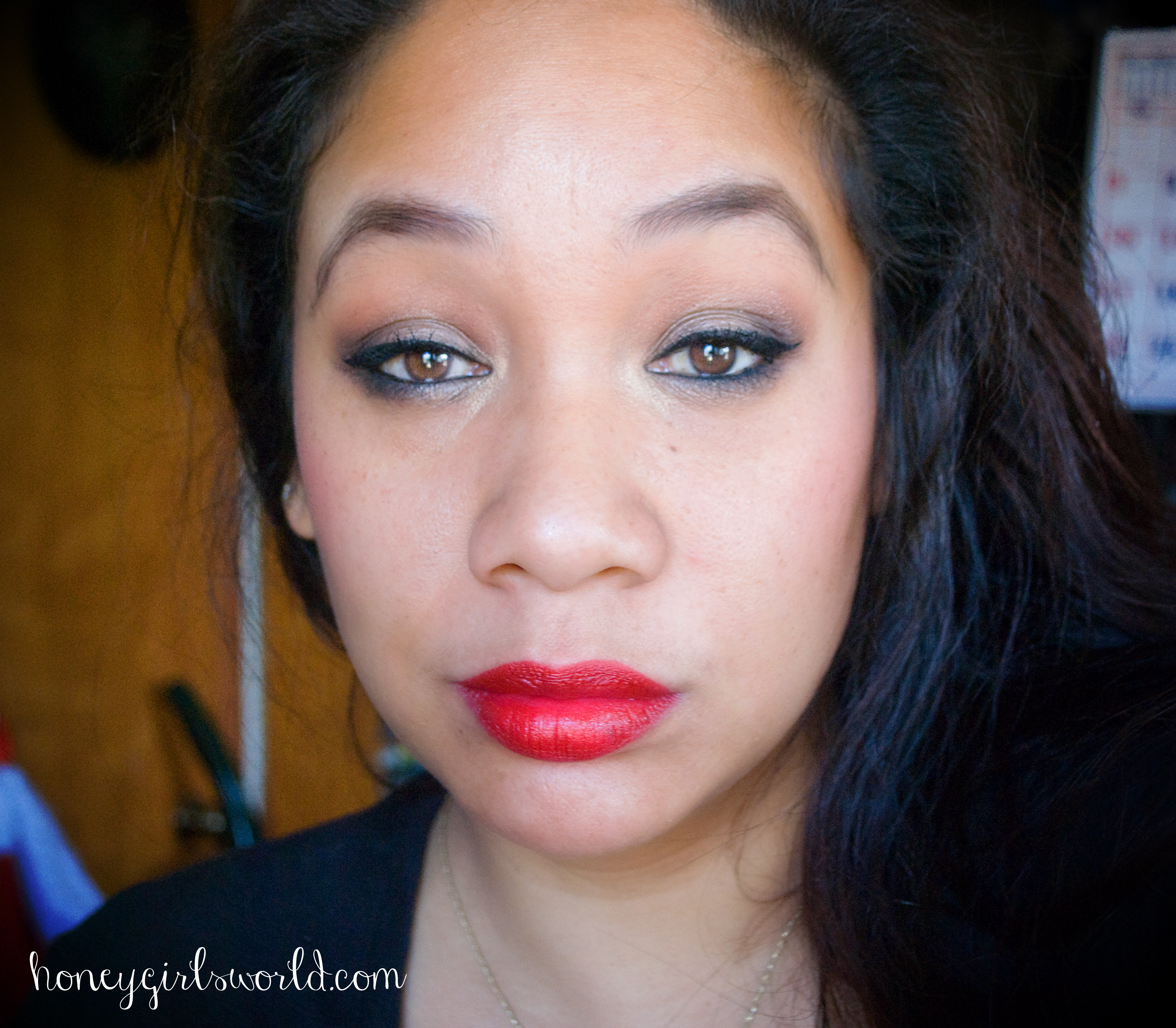 Easy Holiday Glam Makeup