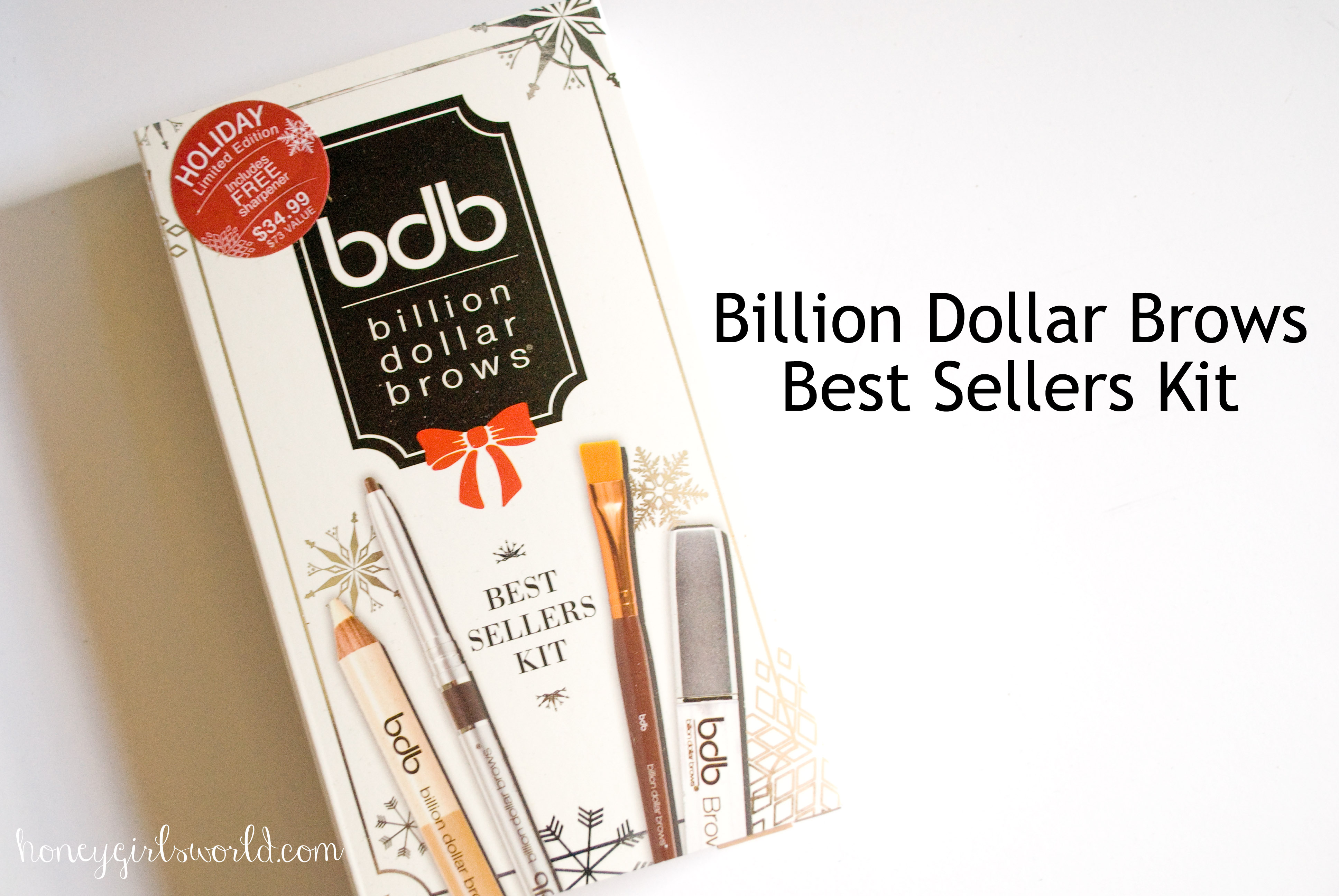 Billion Dollar Brows Best Sellers Kit