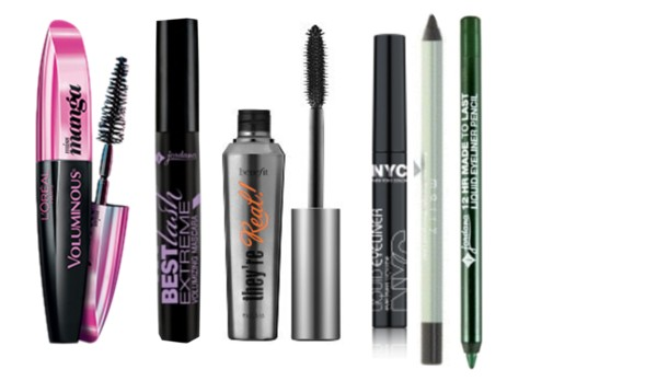 Best Mascaras and eyeliners 2014
