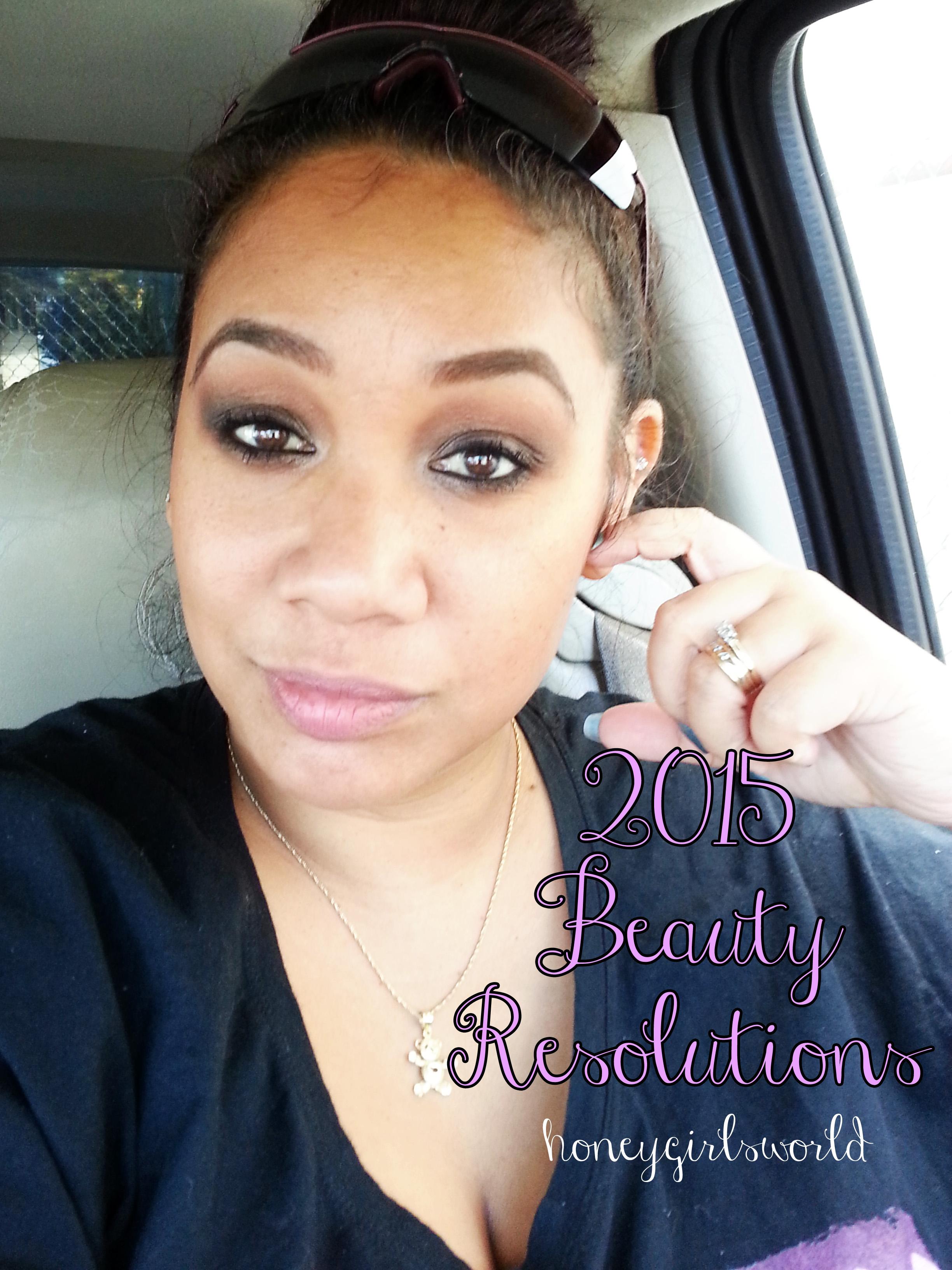 2015 Beauty Resolutions