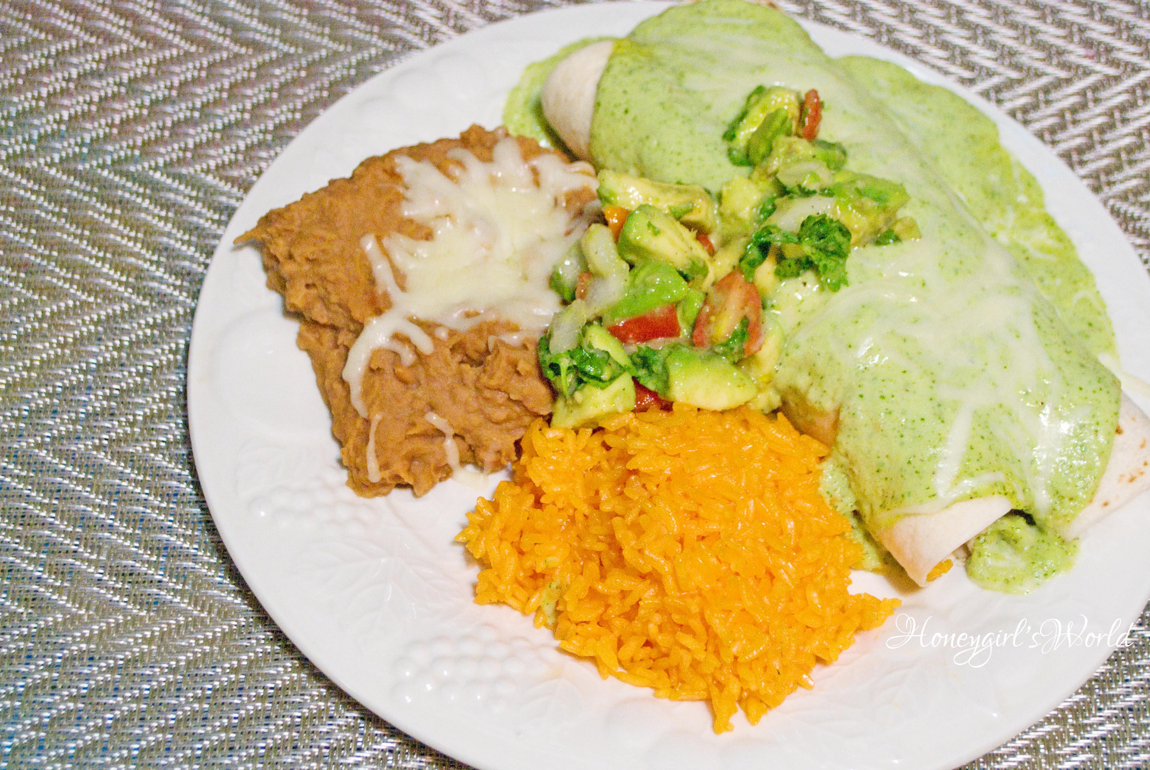 Chicken Enchilada Suizas