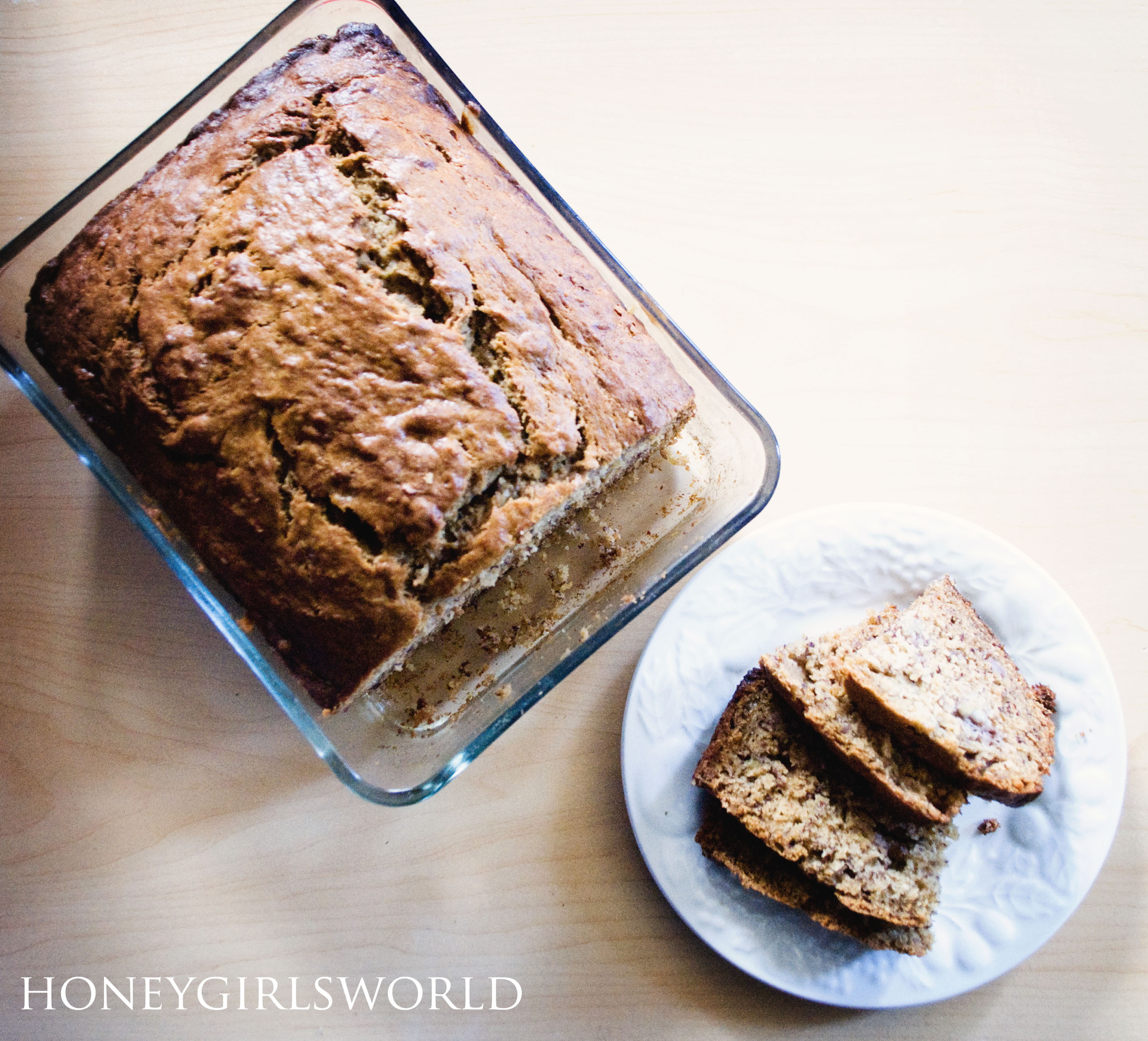 Honey's Easy Banana Bread recipe