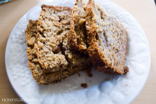 Honey's Easy Banana Bread recipe