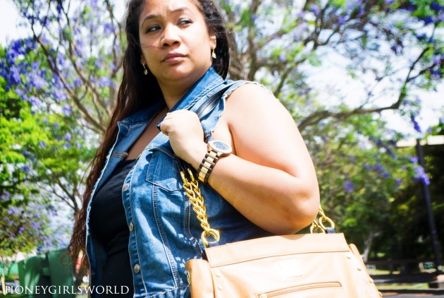 Spring Fashion and Style - Plus Sized Outfit Featuring Miche Bag