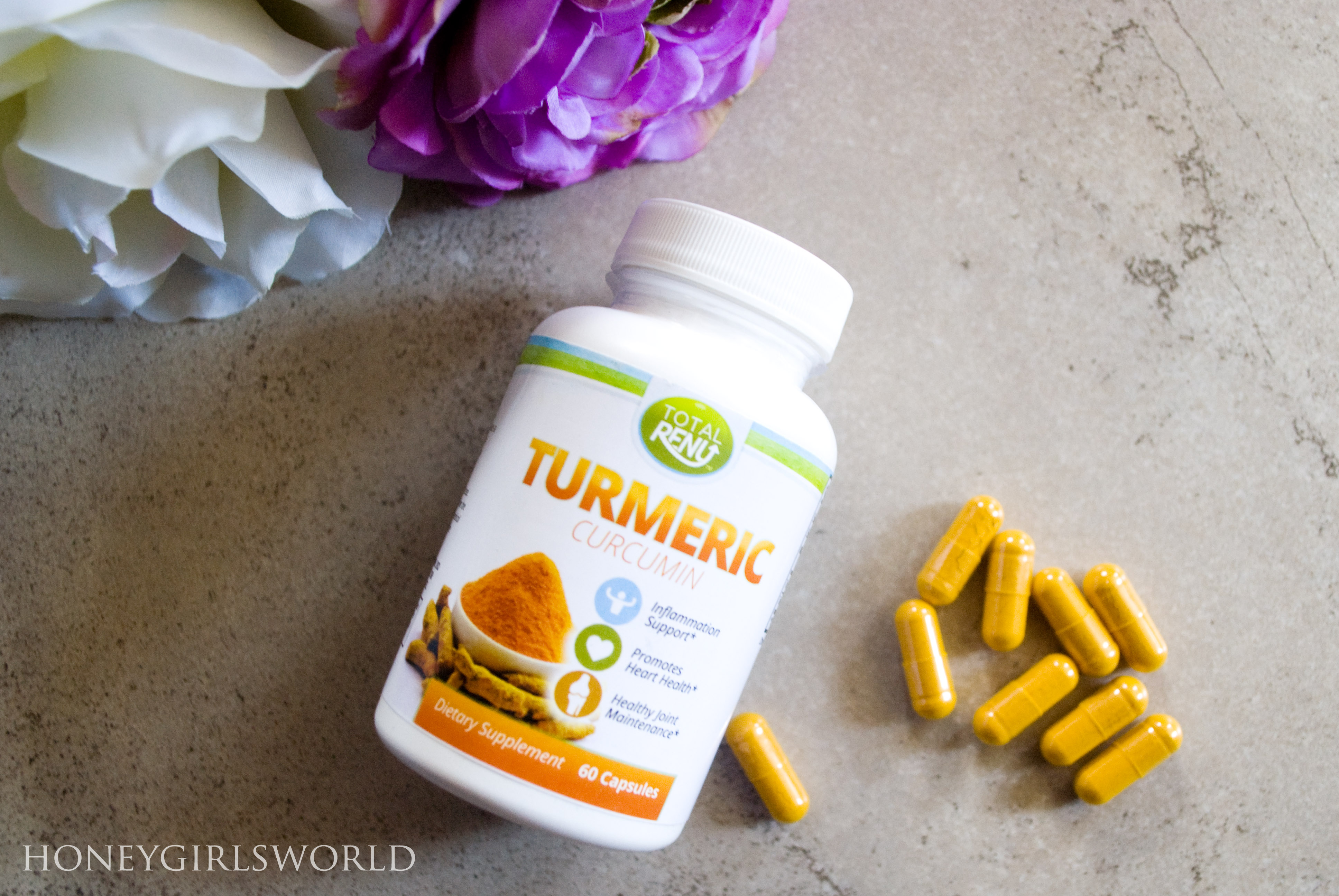 Review - Total Renu Turmeric Curcumin Dietary Supplement