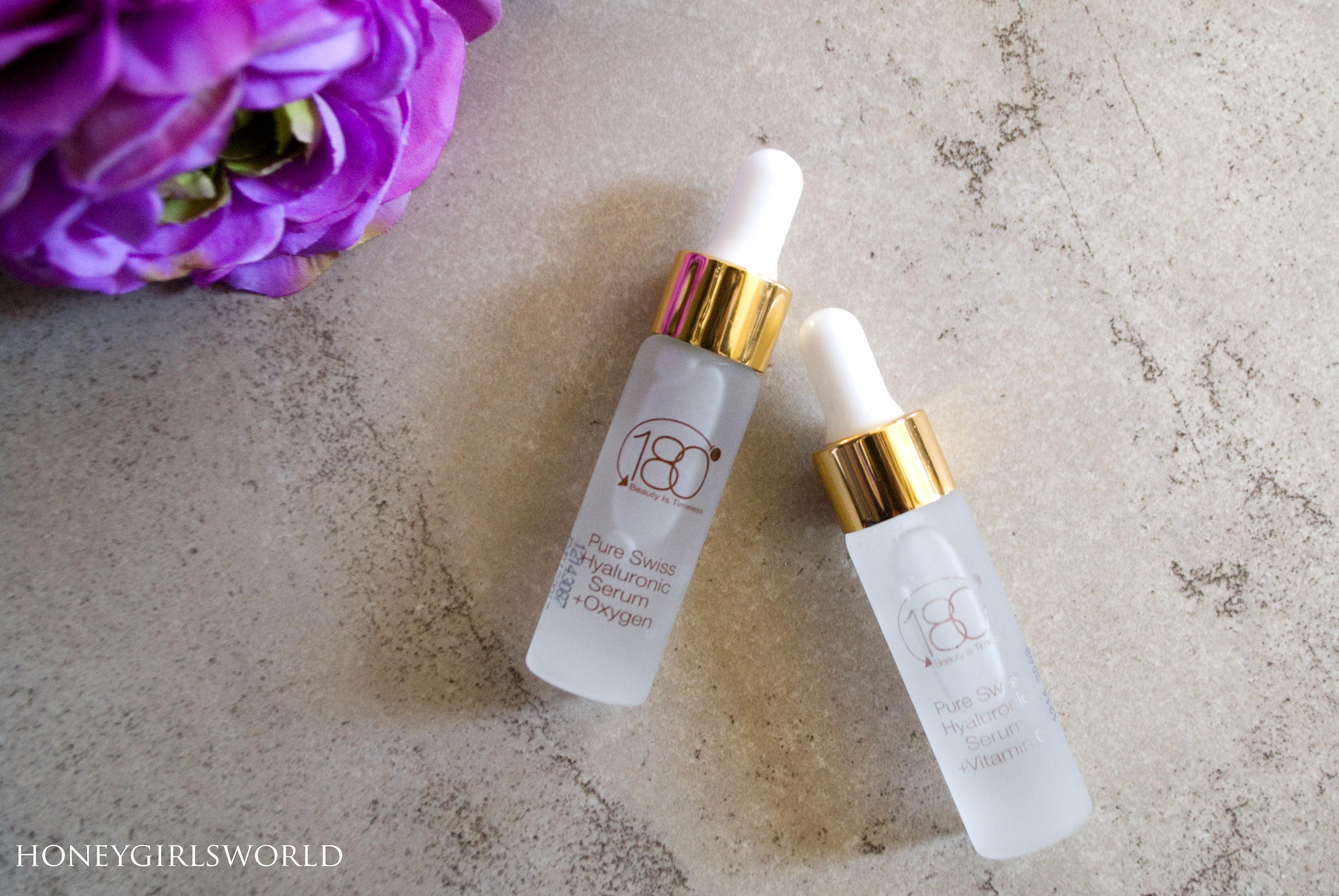 180 Cosmetics Pure Swiss Hyaluronic Acid Serums