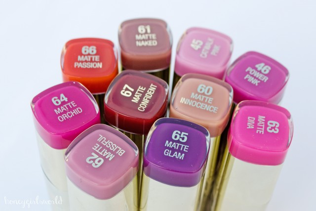Milani Moisture Matte Color Statement Lipsticks