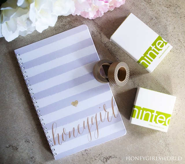 Minted.com Haul – Business Cards, Notebook and Washi