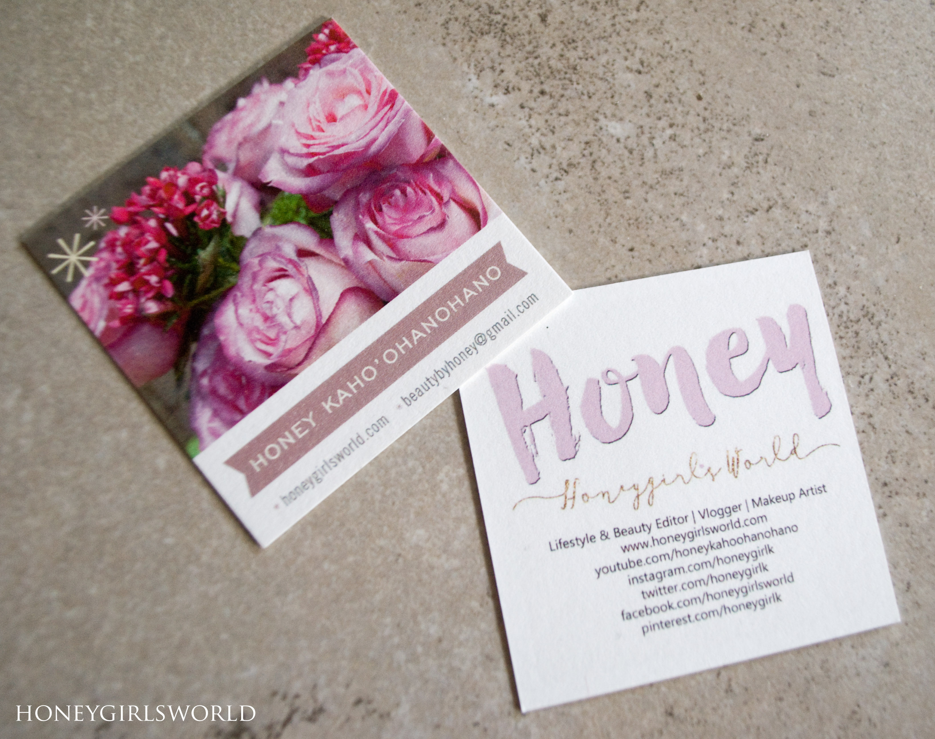 minted haul business cards notebook and washi honeygirl s