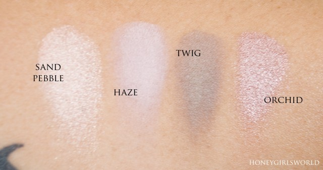 Glo Minerals Eye Shadows