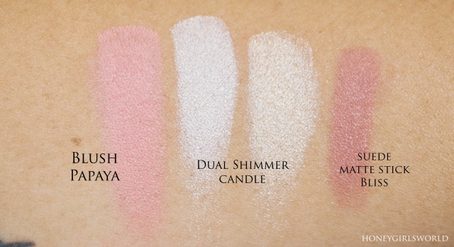 Glo Minerals Swatches
