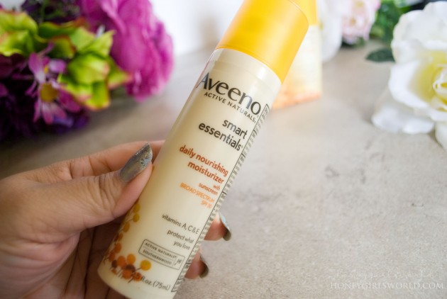 My Go-To Summer Moisturizer - Aveeno Smart Essentials Daily Nourishing Moisturizer