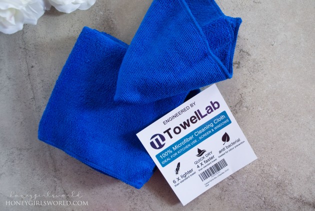 Review - TowelLab 100% Microfiber Cleaning Cloth