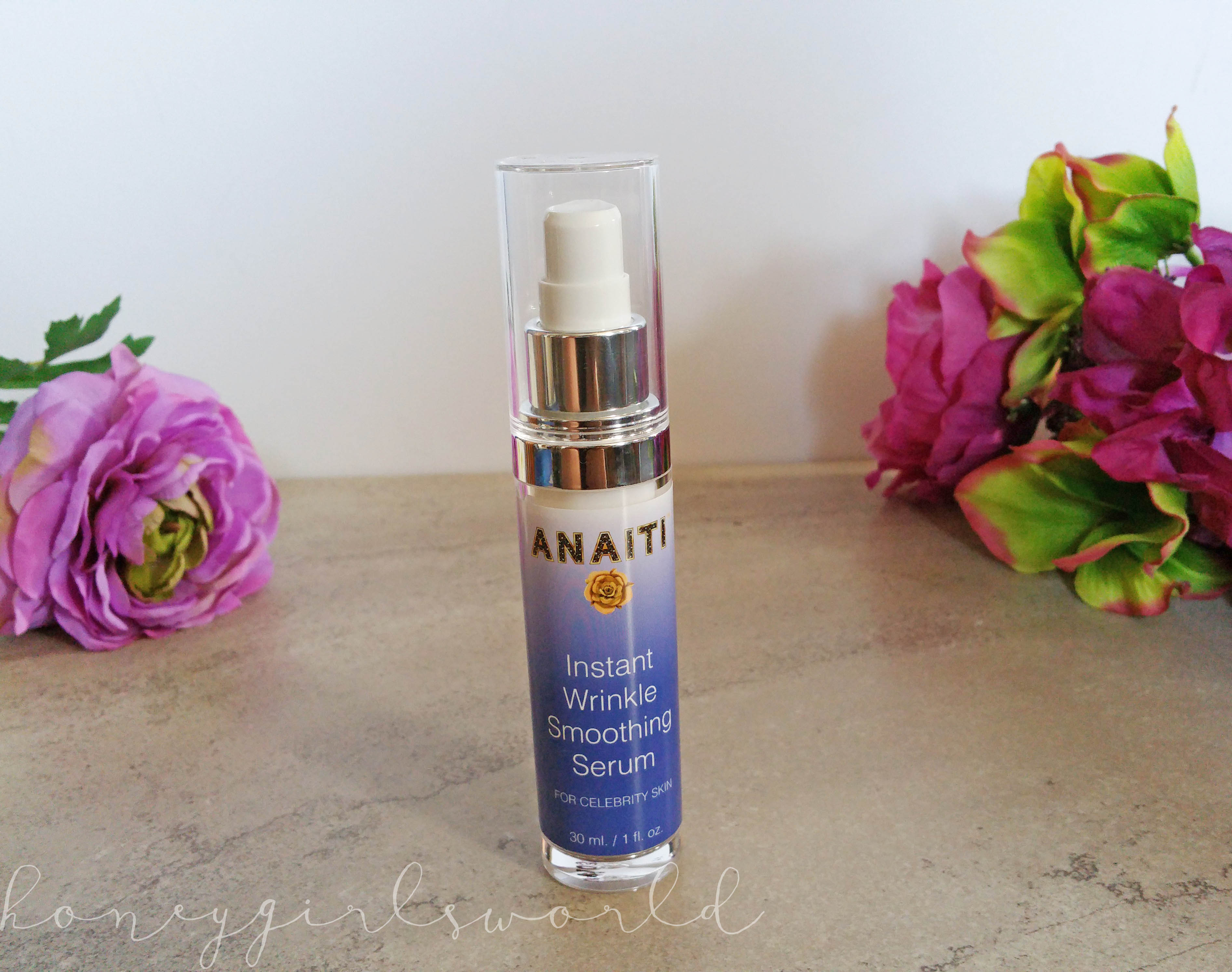REVIEW: Anaiti Instant Wrinkle Smoothing Serum