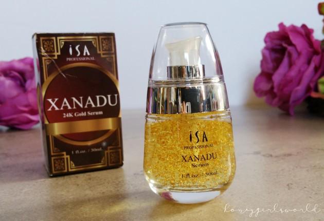 ISA Professional Gold 24K XANADU Vitamin C Serum and Makeup Foundation Primer