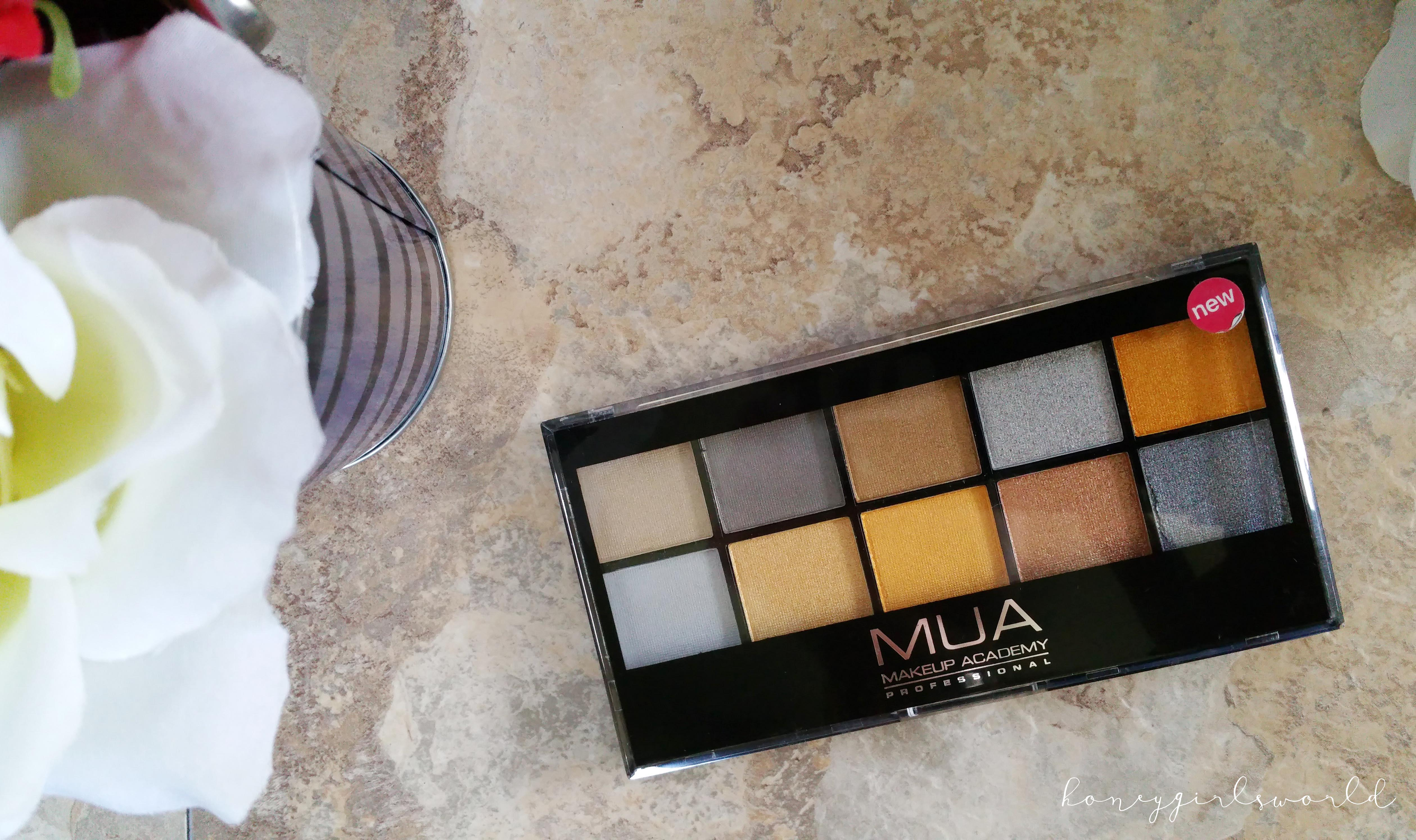 Going For Gold - MUA Makeup Academy Professional Eye Shadow Palette