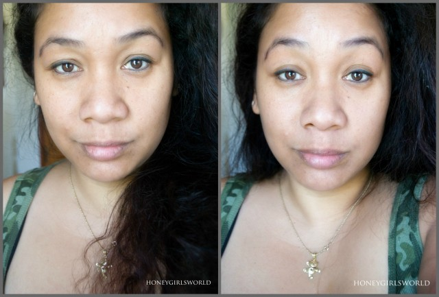 Pacifica Alight BB Cream Before After