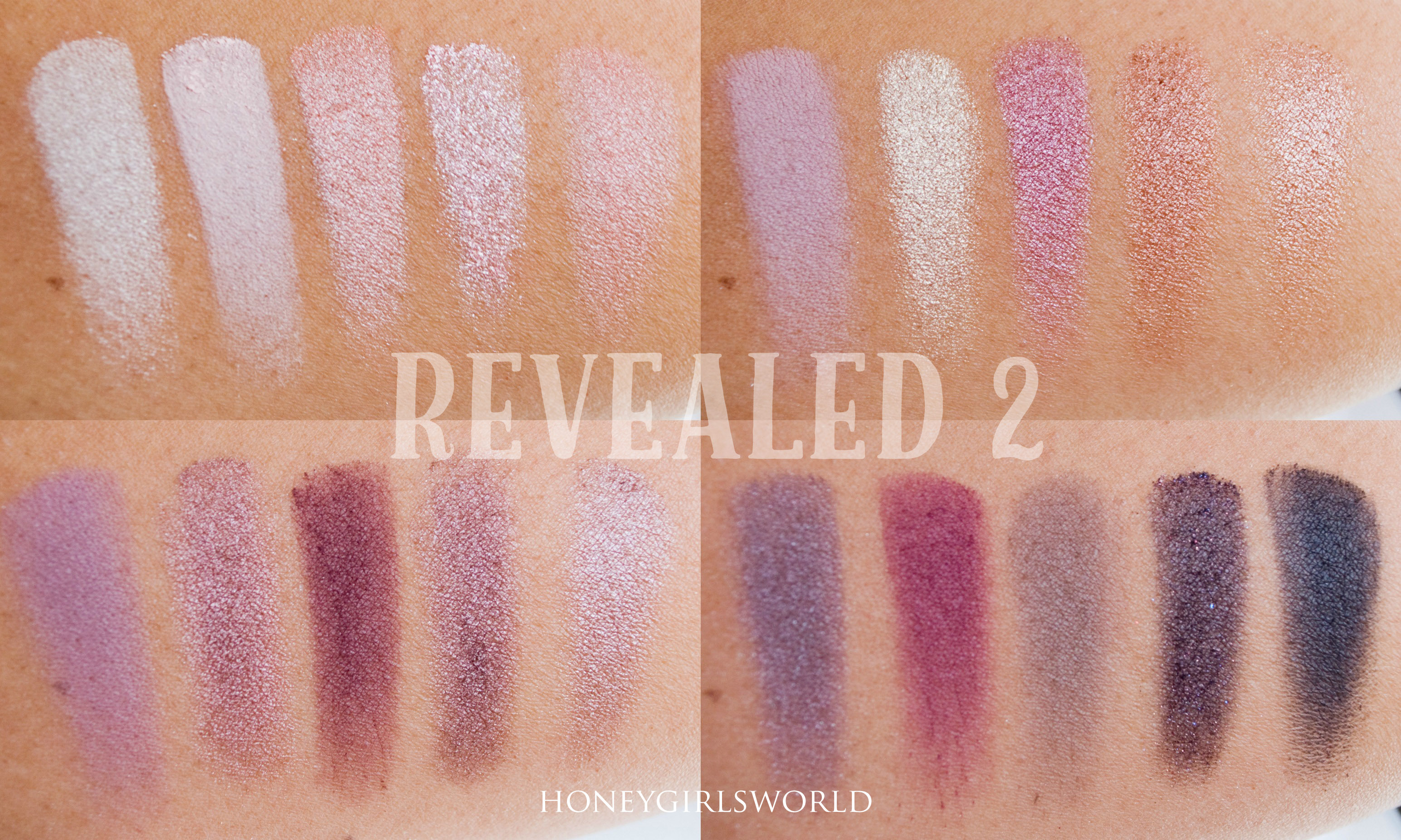 Coastal Scents Revealed 2 swatches