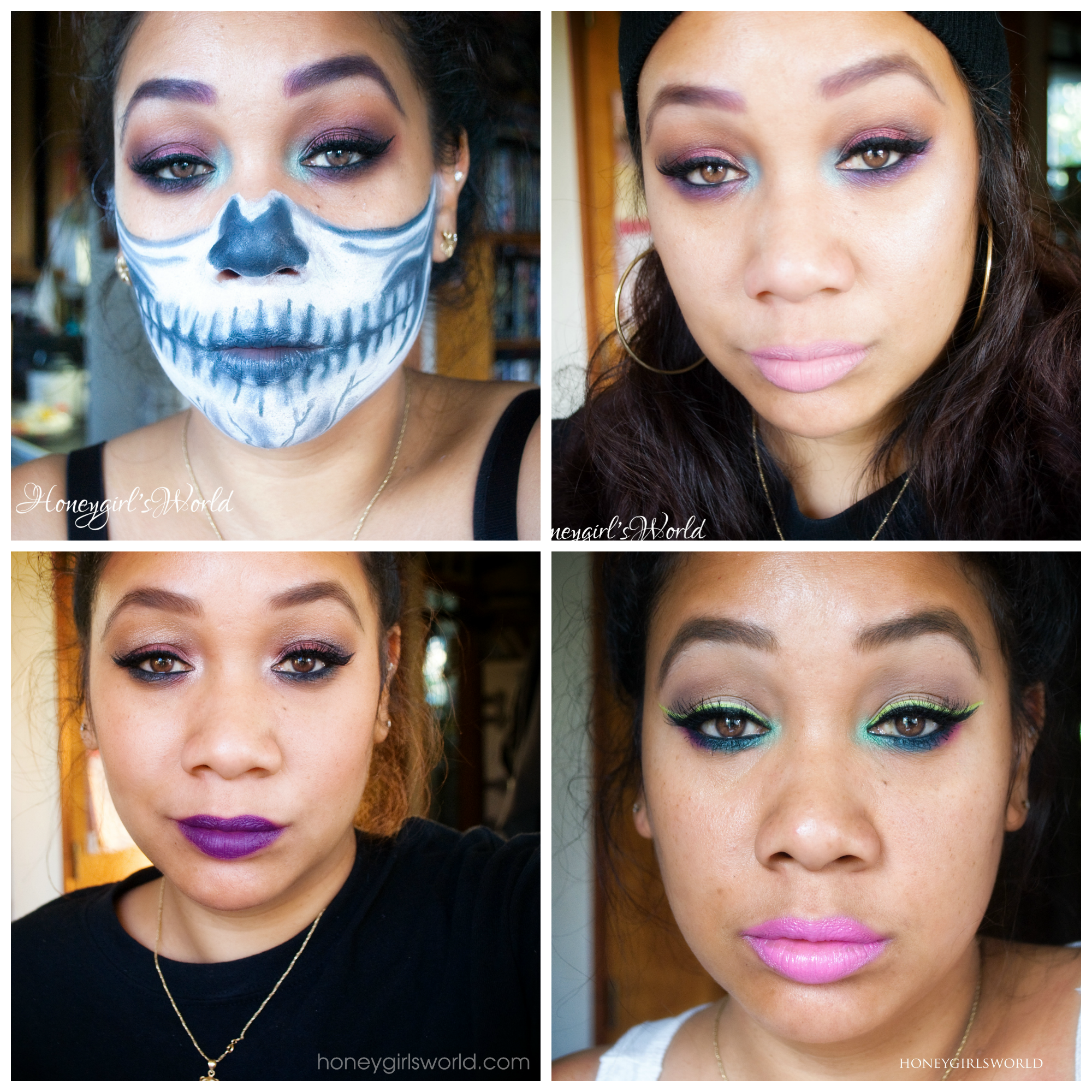 bold makeup selfies