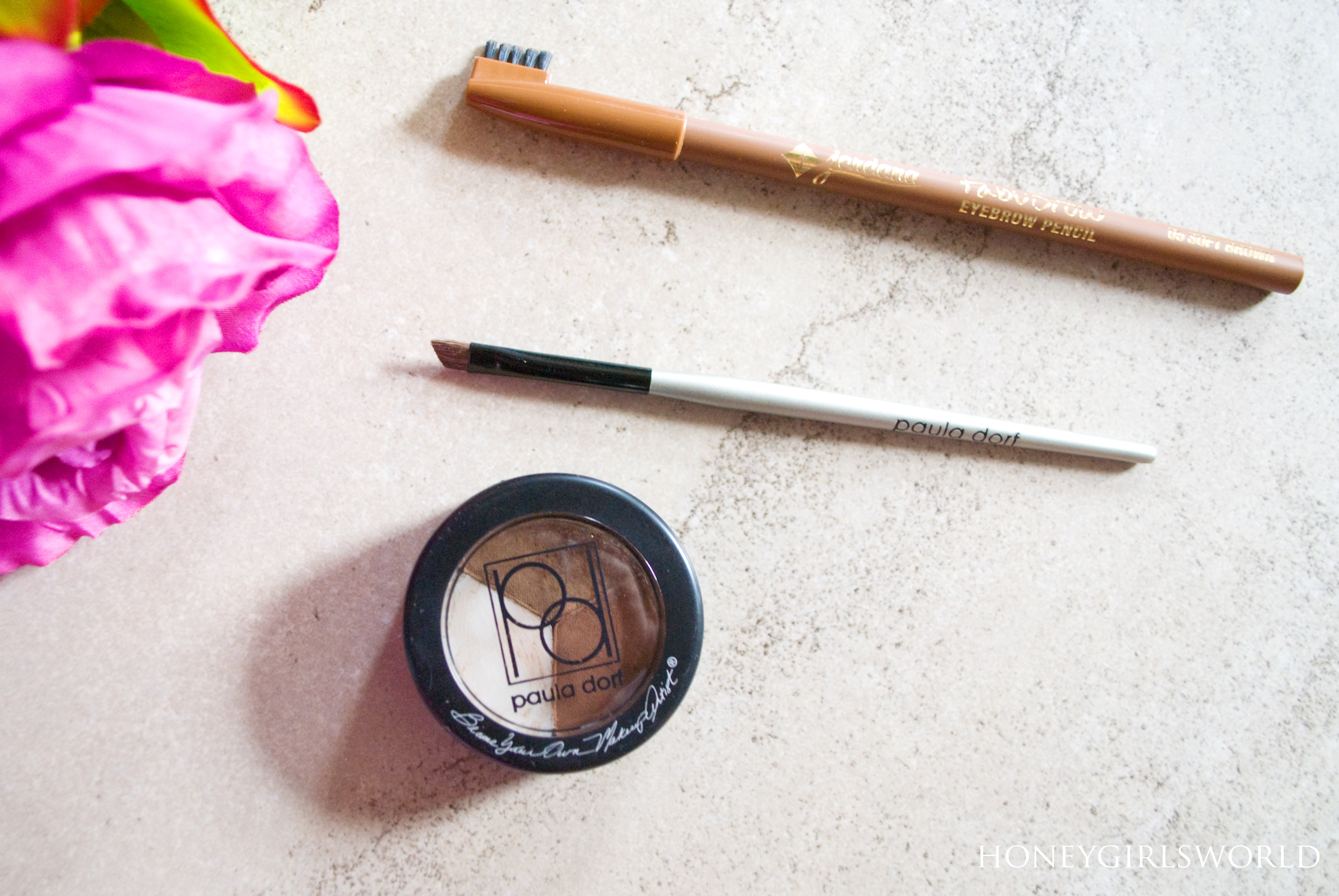 favorite eye brow products