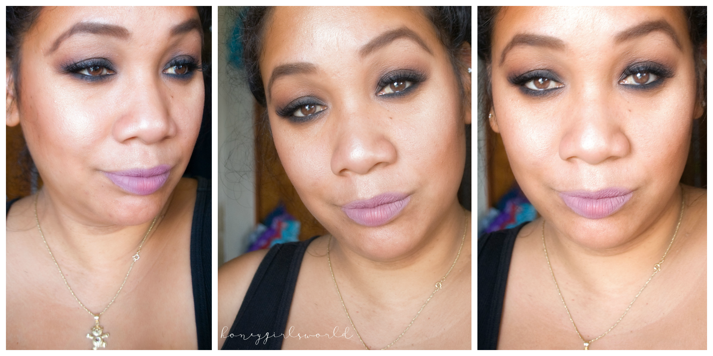 Smoldering Smoky – Easy Smoky Eye Featuring Kat Von D Shade & Light Eye Palette