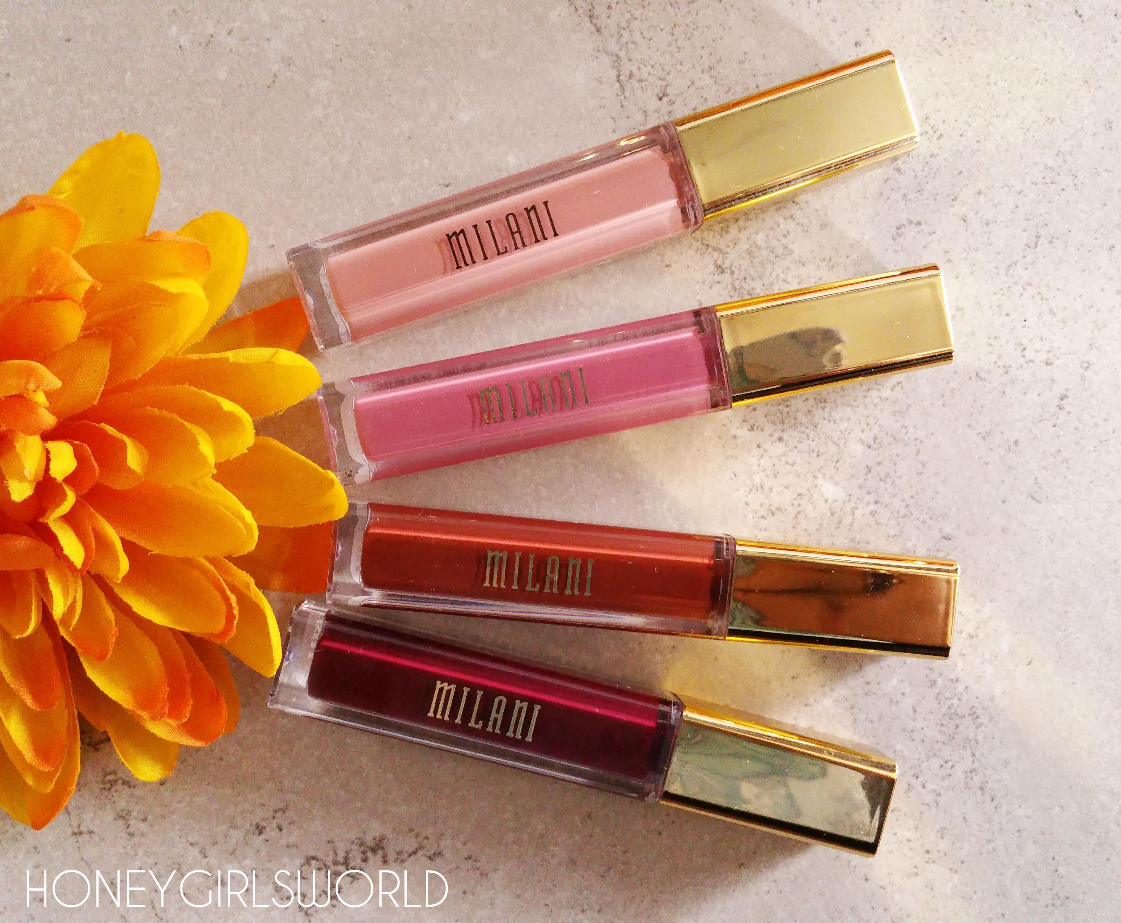 Milani Amore Matte Lip Creme - Liquid to Matte Lipsticks