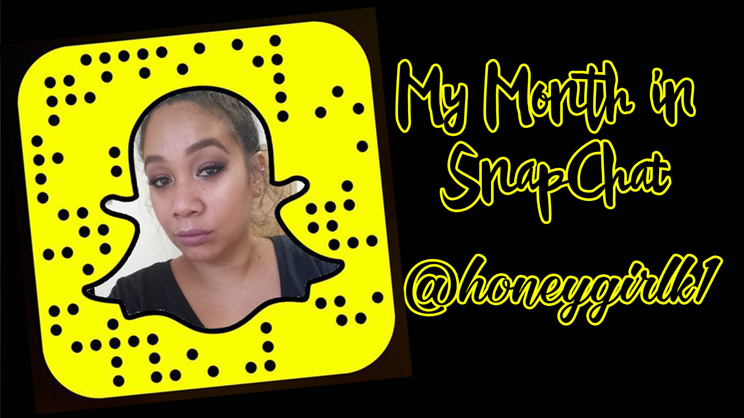My Month on Snapchat – August 2015