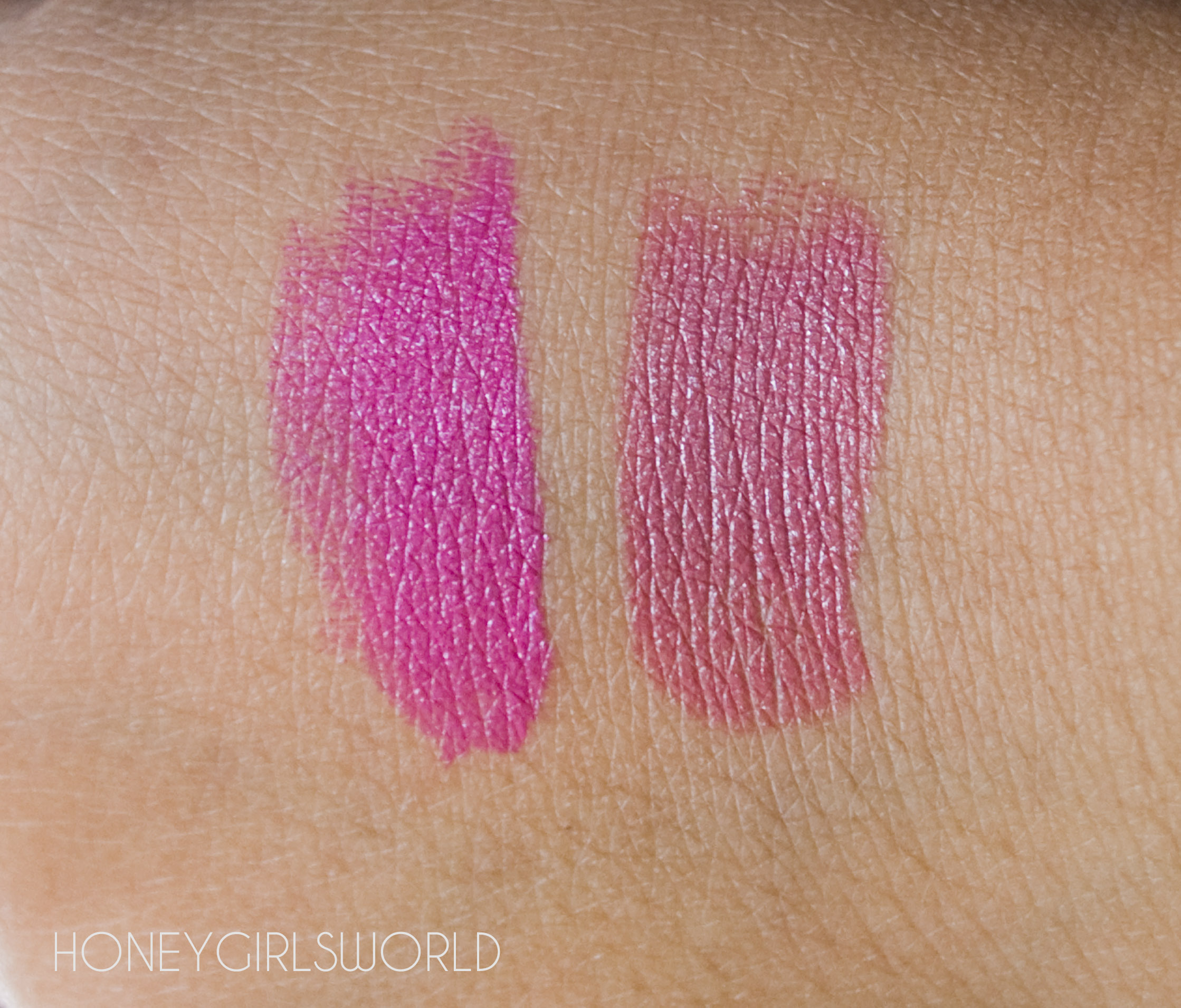 YSL Rouge Pur Couture - Rose Stiletto and Fuchsia