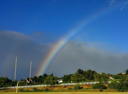 Somewhere over the rainbow luckyilivehawaii hawaii maui rainbow beautiful gorgeoushellip