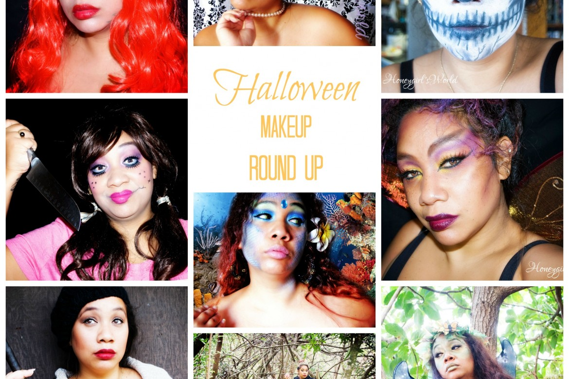 Makeup tutorials archives honeygirls world lifestyle beauty blog halloween makeup a round up of past looks ive created baditri Image collections