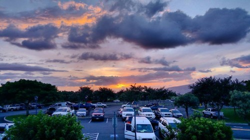 Another beautiful Maui sunset this evening