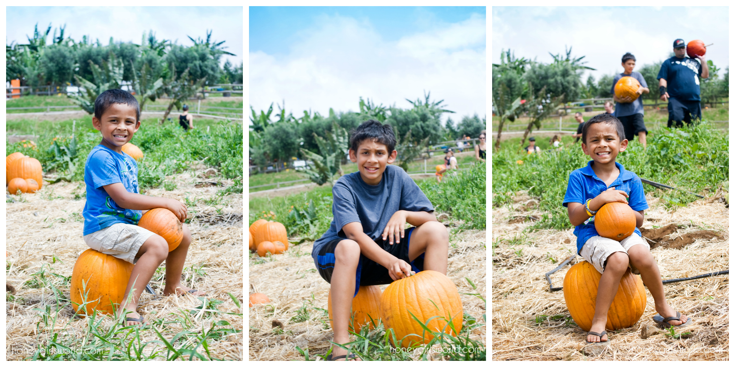 Annual Trip To The Pumpkin Patch - K Family Adventures