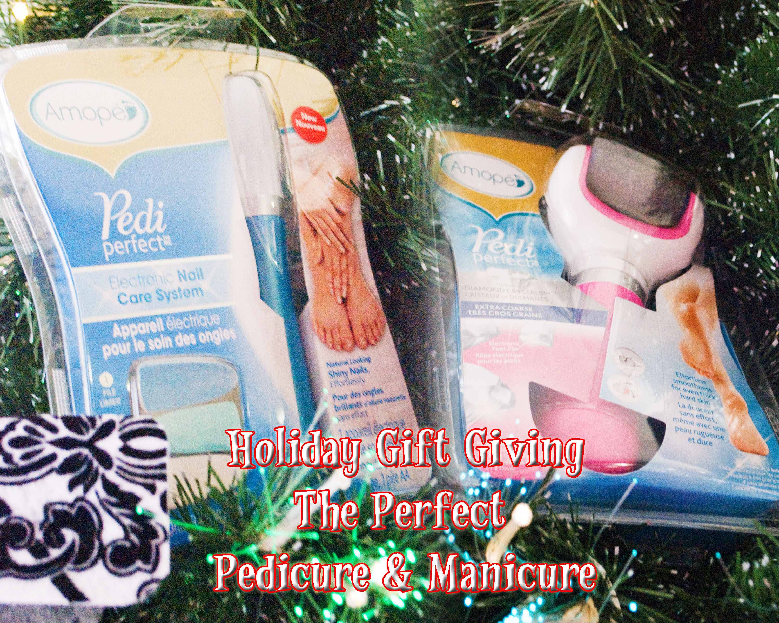 Holiday Gift Option - The Perfect Pedicure and Manicure With Amopé