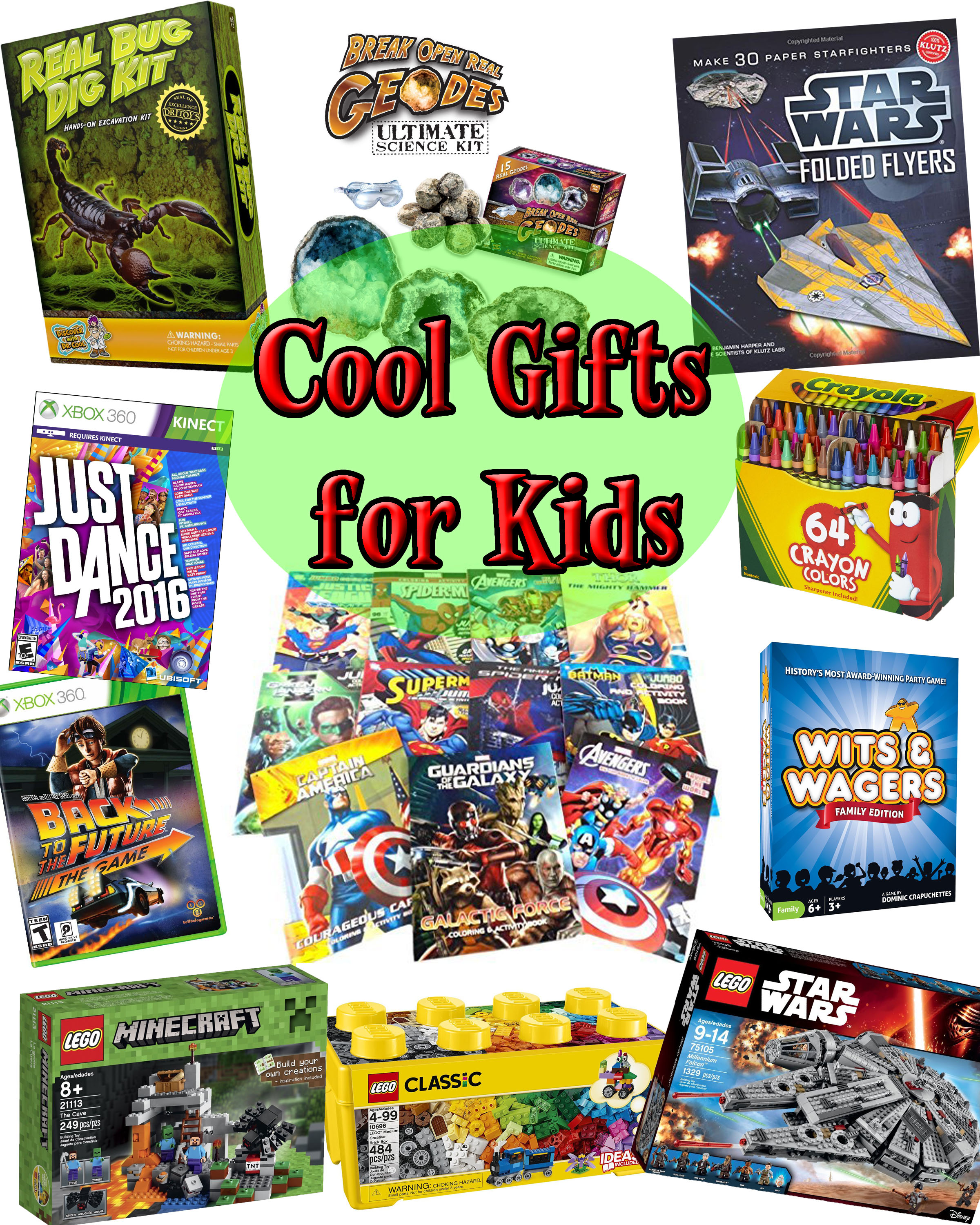 Holiday Gift Guide - Cool Presents For Kids