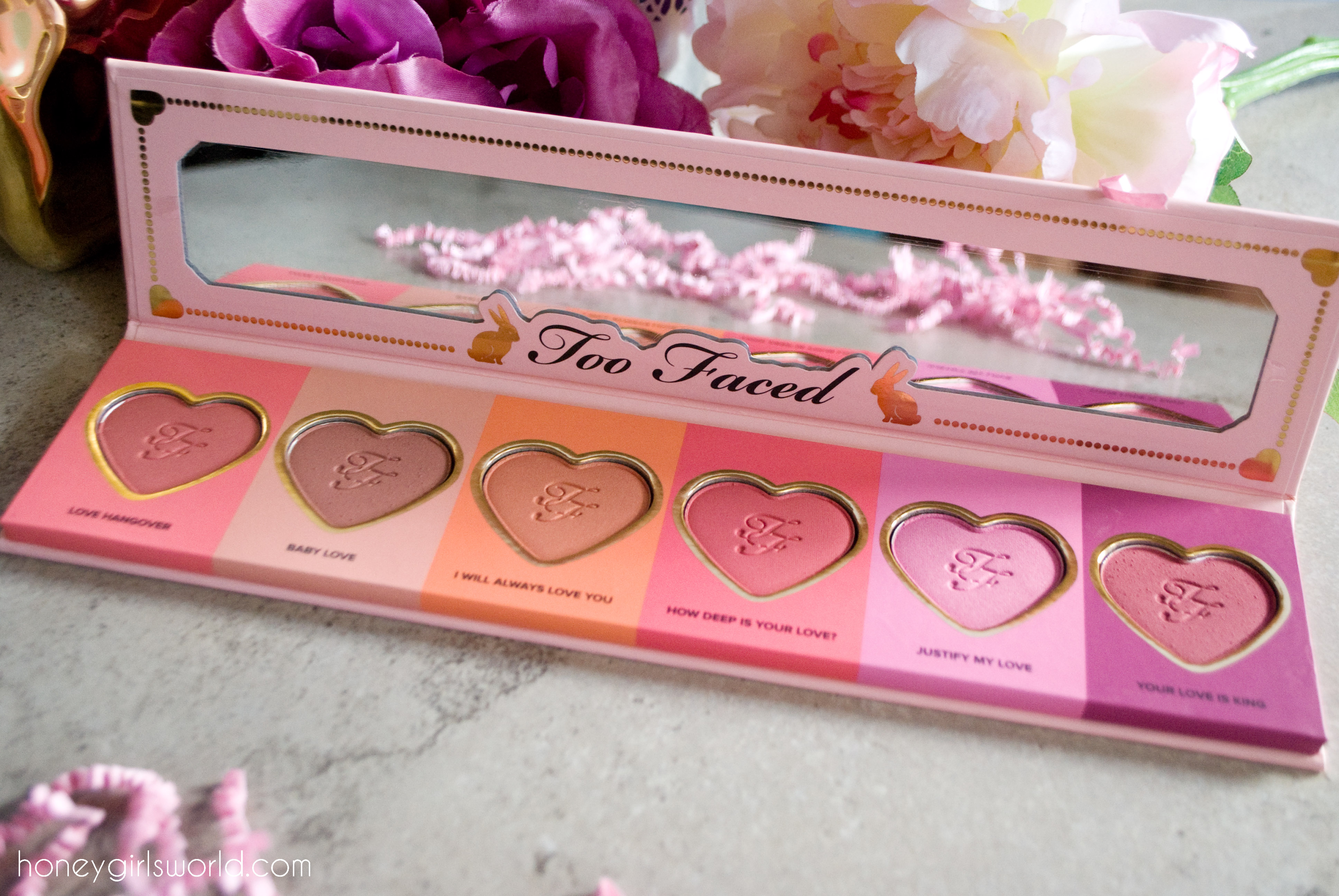 Too Faced Love Flush Blush Wardrobe Palette – Review & Swatches