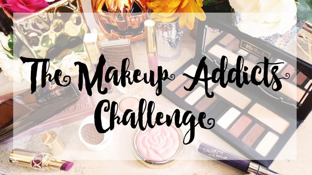 makeup challenge, makeup addict, no buy, no spend challenge,