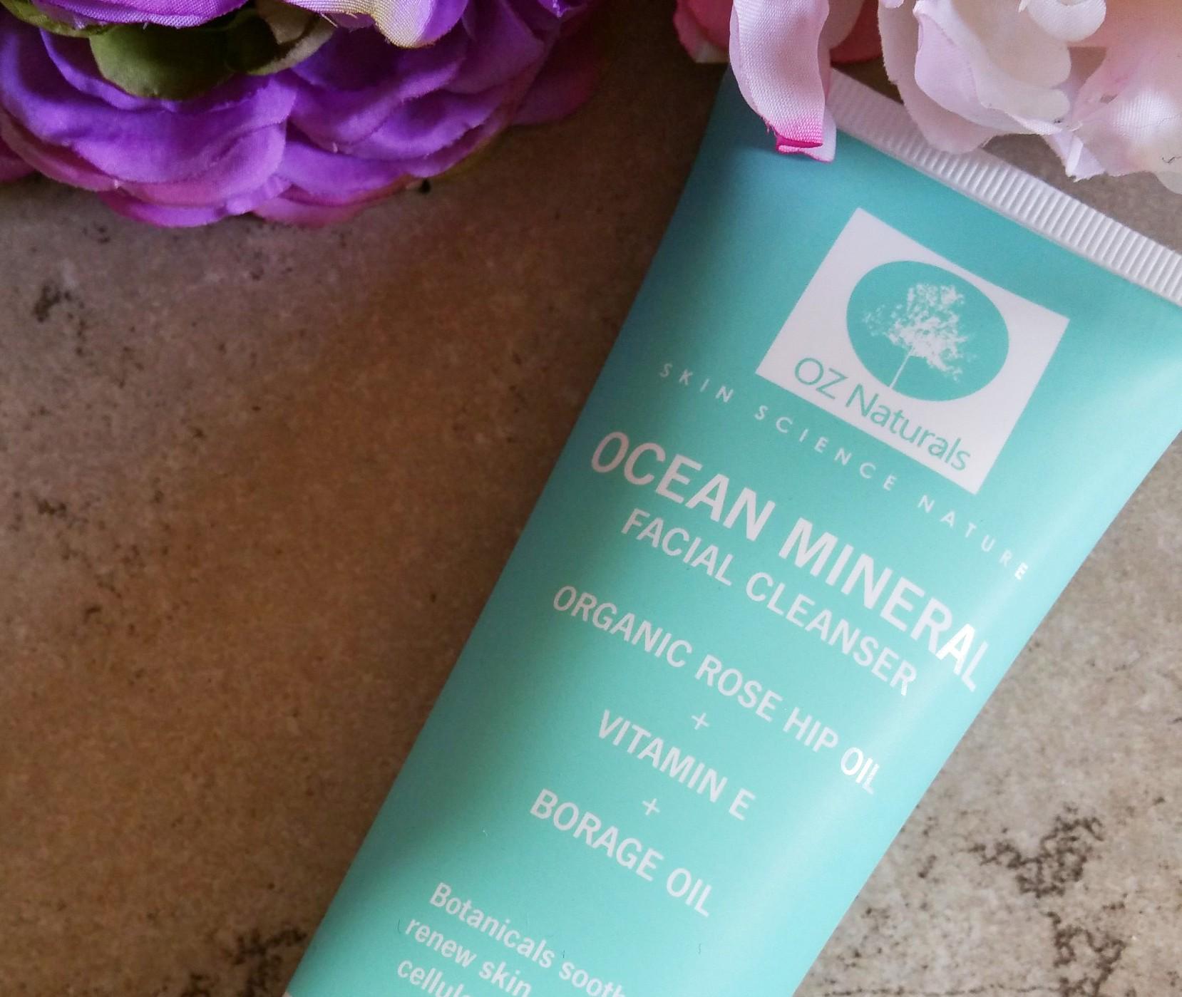 OZ Naturals, OZ Naturals Ocean Mineral Facial Cleanser, facial cleanser, skin care, facial, cleanser,