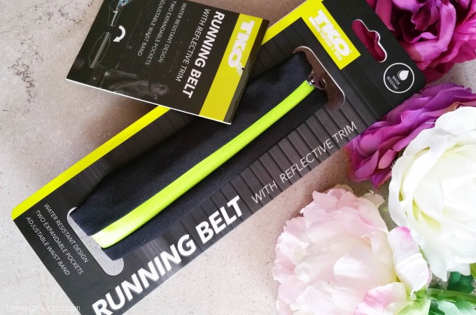 My Get Fit Buddy – The TKO Running Belt With Reflective Trim